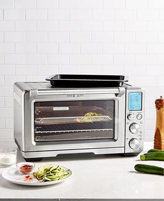 Breville Bov900bss Smart Oven Air Reviews Small Appliances Kitchen Macy S Smart Oven Breville Small Appliances