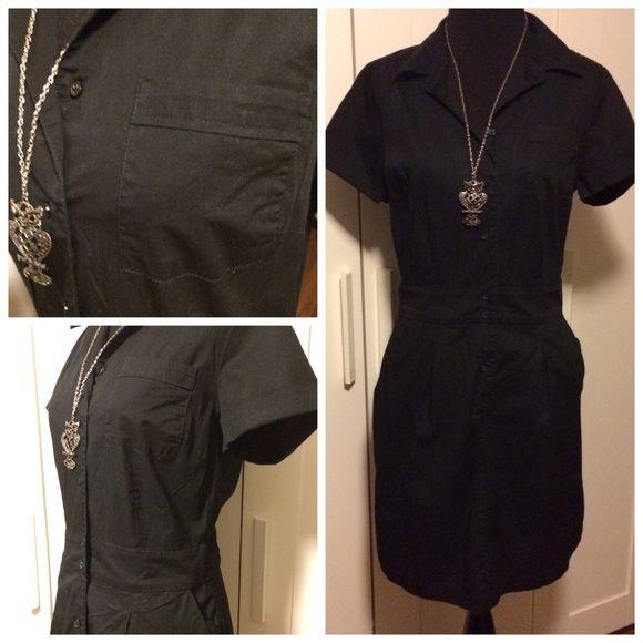 4462d44a85cd2 Banana Republic Black Dress
