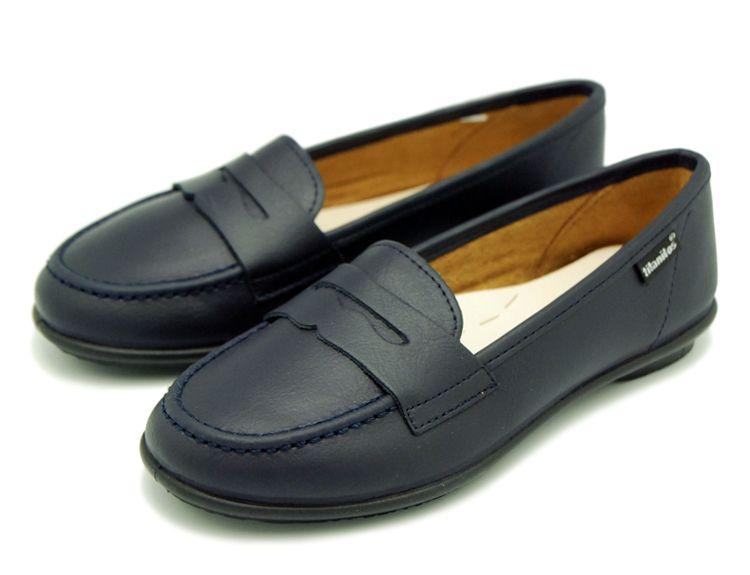 629ea3c5 Tienda online de calzado infantil Okaaspain. Calidad al mejor precio  fabricado en España. Mocasín colegial con antifaz de piel lavable.