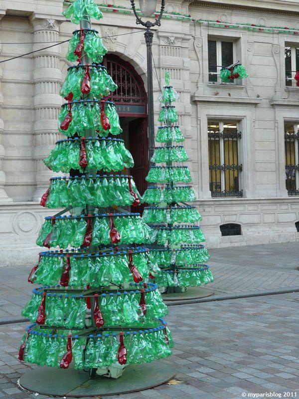 sapins bouteilles plastiques paris mairie du 4 me on