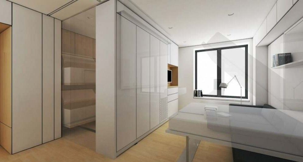 Lifeedited com shows a tiny apartment can be transformed into multiple rooms