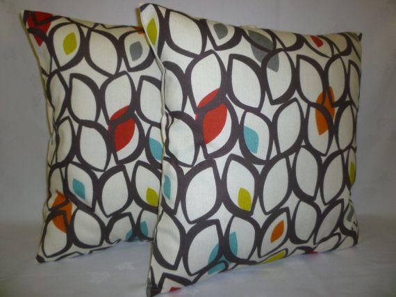 Orange Scatter Cushions