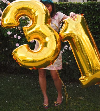 Balloon Numbers For A Birthday Or Anniversary Number Balloons