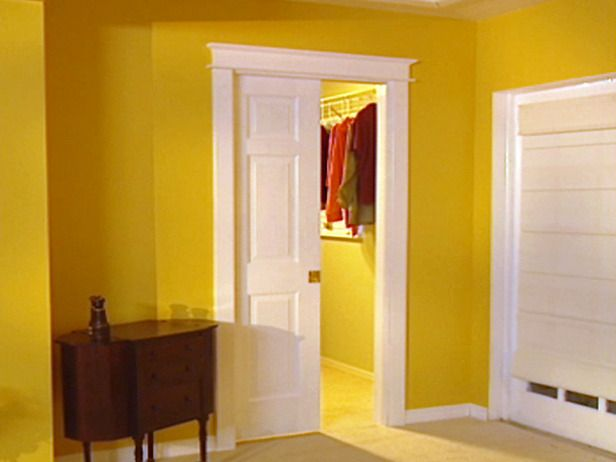 Merveilleux Pocket Doors | How To Install A Pocket Door : How To : DIY Network... This Is  What Our Closet Needs So We Can Have A Sitting Area In Our Room.
