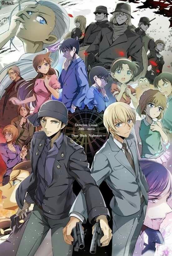 Detective Conan movie 20  Ahhh finally I watch it