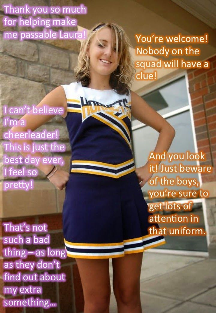 Image result for Forced Feminization Captions Cheerleader ...