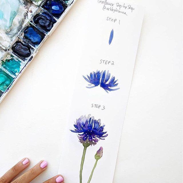 1 Metre De Pate A Modeler Tutoriel Fleurs Aquarelle Comment