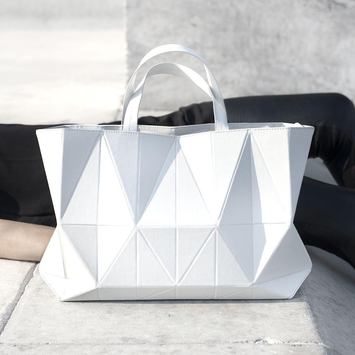 29f255ddb7d4 Origami Handbag - graphic minimal bag
