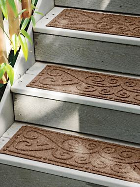 Indoor/Outdoor Stair Treads   Nonslip Stair Pads   Solutions