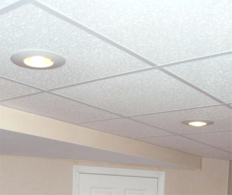 Drop Ceiling Recessed Lighting Suspended Installation Led Lights