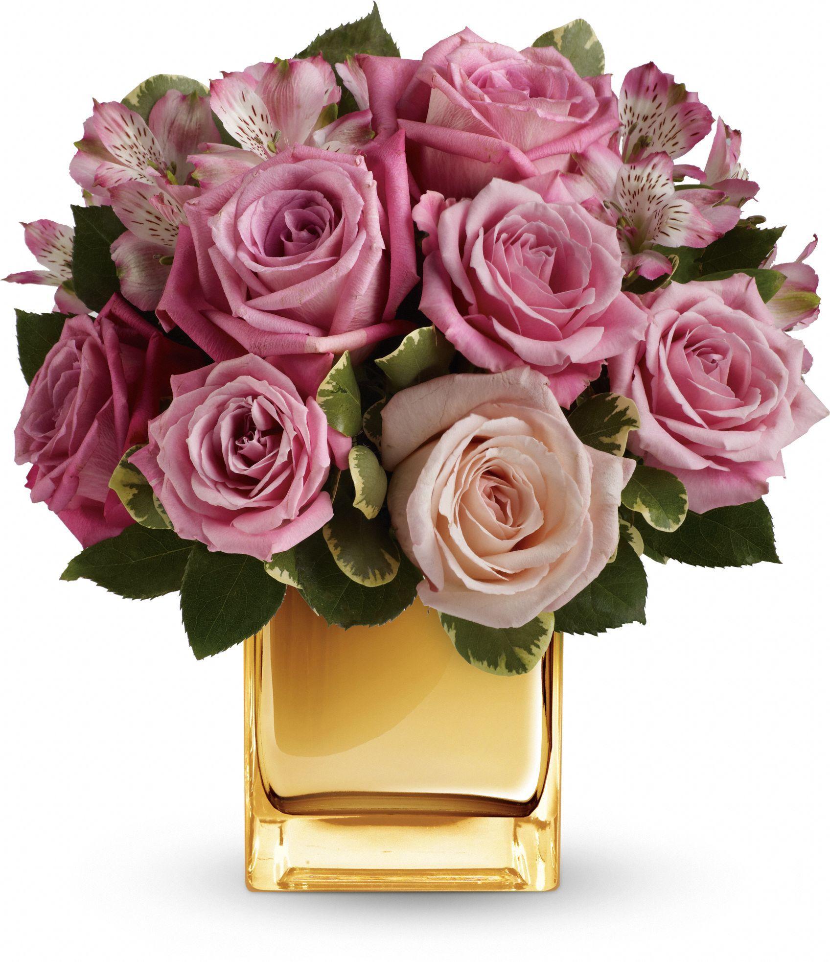 A Radiant Romance flowers by Teleflora