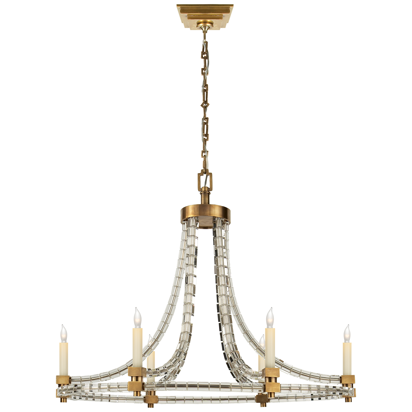 Chandelier with cubed crystal and gold accents available at avenue chandelier with cubed crystal and gold accents available at avenue design canada in montreal qc mozeypictures Gallery