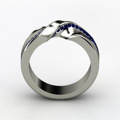 Mobius strip ring