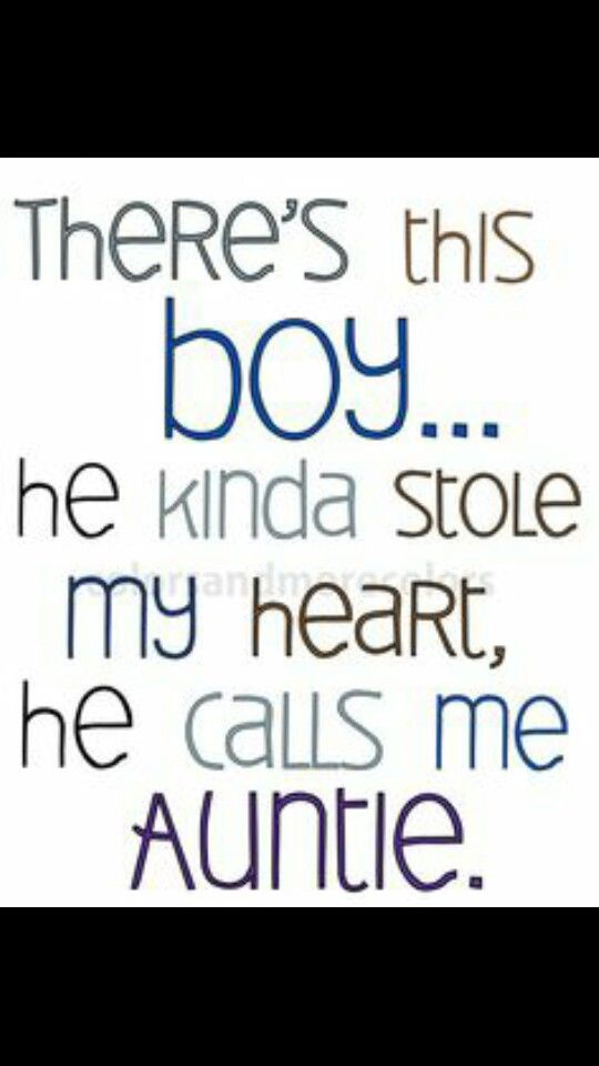 Jacob Daniel Quotes Pinterest Aunt Quotes Auntie And Nephew
