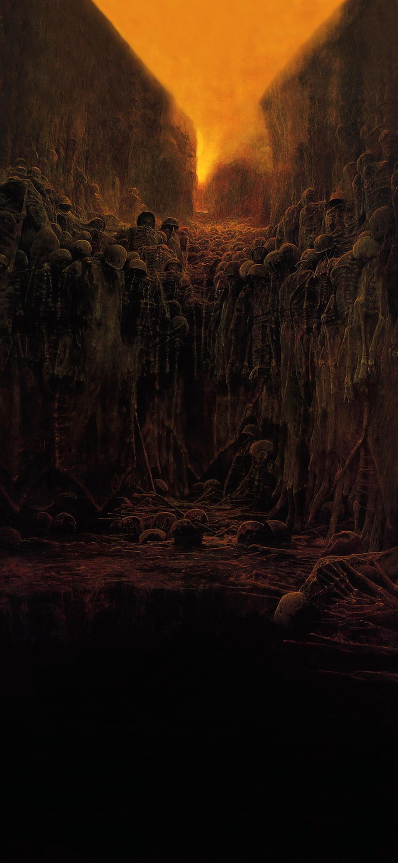 Untitled Zdzisław Beksiński [1080 x 2340] in 2020 Dark