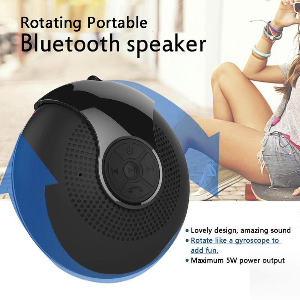 Portable Outdoor Bluetooth Rotary Speaker High Subwoofer Flashing Light Ebay Link