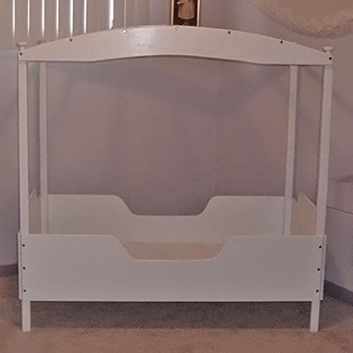Jasmine Canopy Toddler Bed Toddler Bed Bed White Canopy