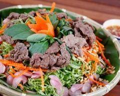 Bo bun, salade de boeuf à la vietnamienne | Cuisine AZ