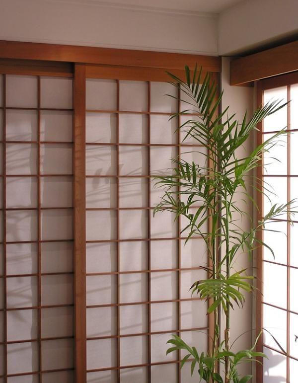 C mo hacer una puerta japonesa de papel puertas shoji - Puertas shoji ...