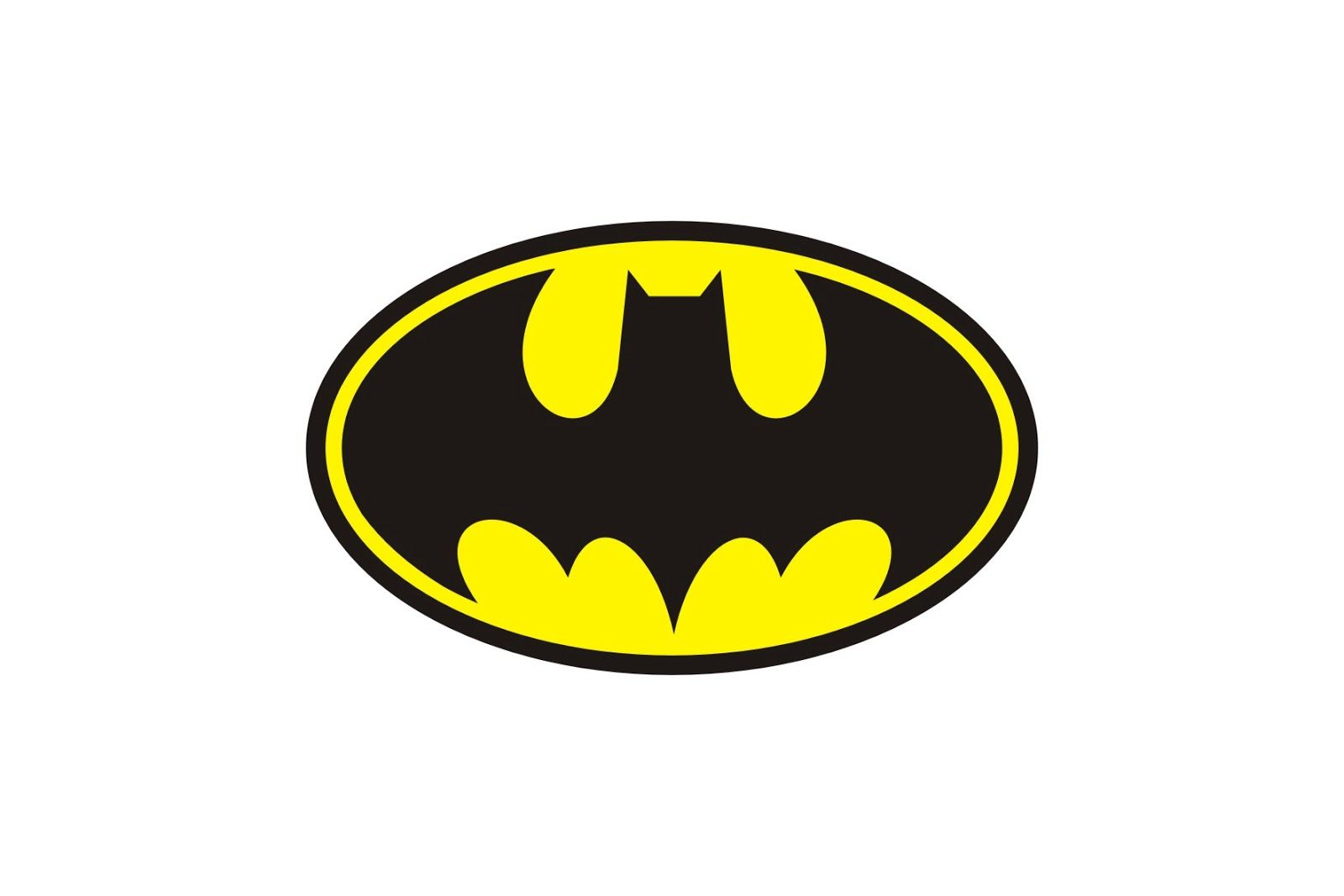 Batman Logo Printable Clipart Best Superhero Logo Templates