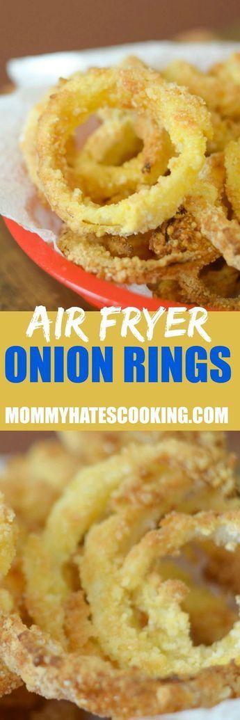 Easy Air Fryer Onion Rings Recipe | Recipe | Air fryer ...