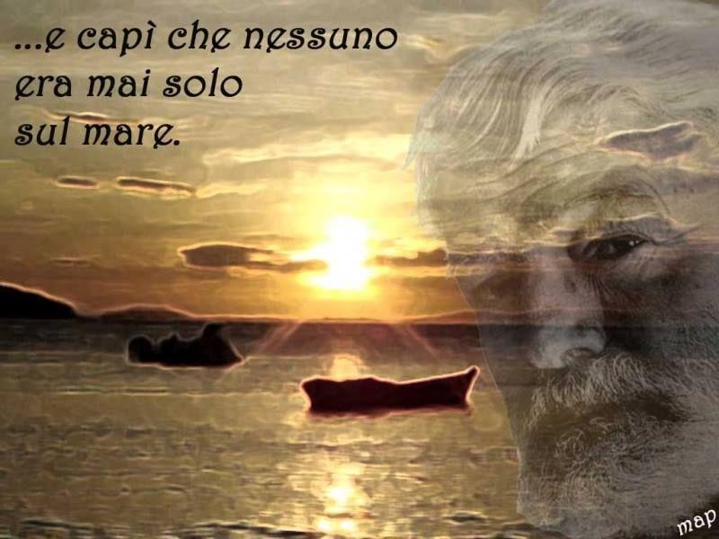 Ernest Hemingway Il Vecchio E Il Mare Guardo Il Mare E Capi
