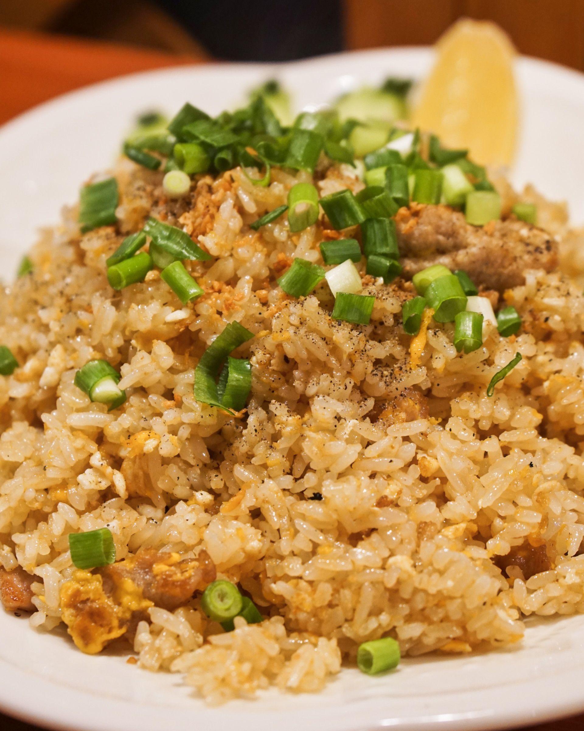ข าวผ ดหม Khao Pad Moo Fried Rice With Pork อาหารเย น อาหาร อาหารและเคร องด ม