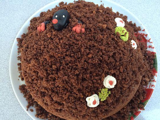 Der Kleine Maulwurf Kuchen Kuchen Ideen Backideen Einfacher Nachtisch