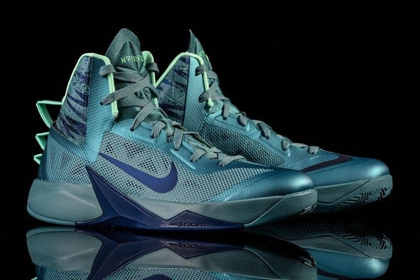 posición Amperio Qué  NIKE ZOOM HYPERFUSE 2013 MINERAL TEAL GRN GLOW BRAVE BLUE 615896-300 SZ 11  RARE | Adidas shoes outlet, Nike, Sneaker head