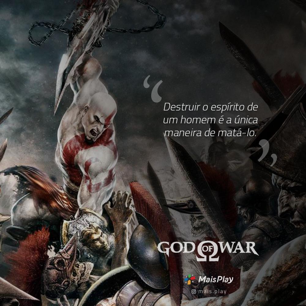 9 Frases Impressionantes E Inesquecíveis De Kratos De God Of