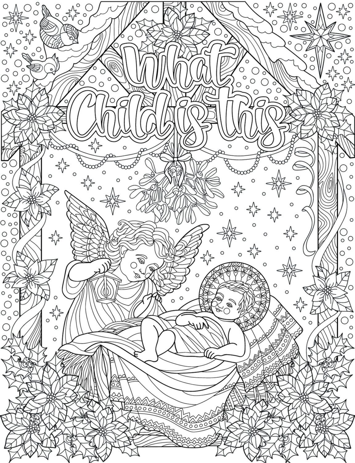 Inspired To Graces Christian Colouring Cards Are A