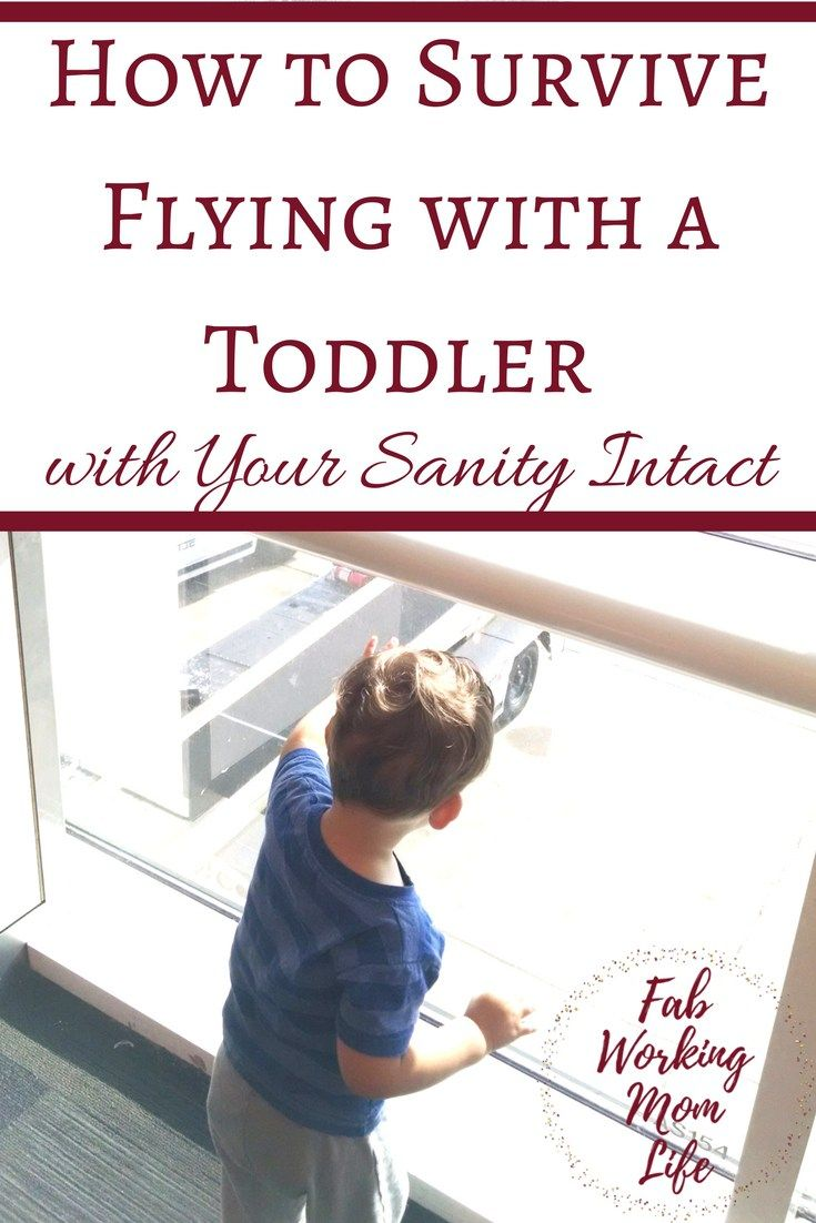 How to Survive Flying with a Toddler with your Sanity Intact. Air travel with a child can be stressful. Read these tips from a mom with a spirited child.