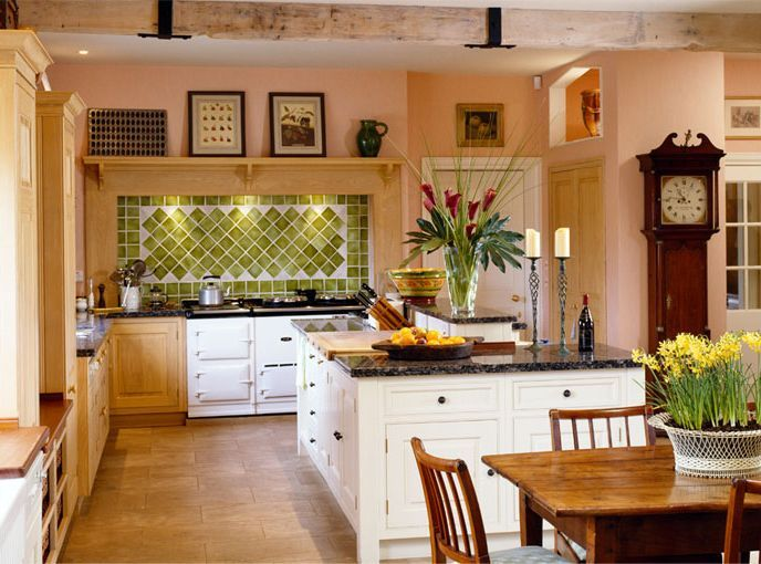 English Country Style House Interiors Mark Gillette English