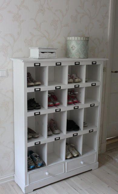 van een oude wijnkast een schoenenkast maken | house decor | ideas
