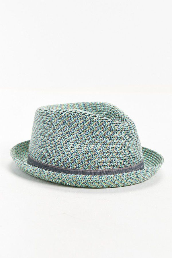 Bailey Of Hollywood Mannes Mint Straw Fedora Hat  178ec893f39