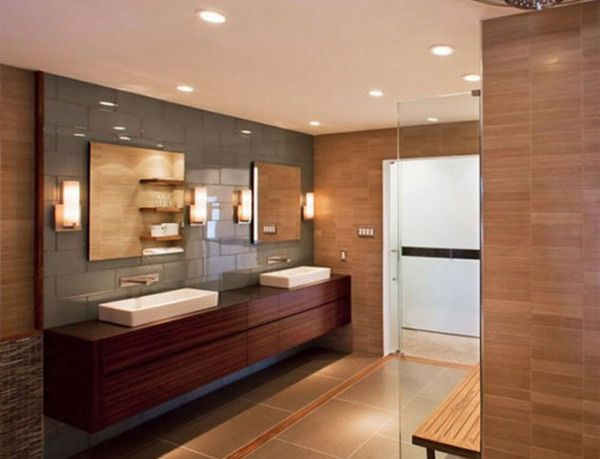 Superior 18 Exquisite Contemporary Wooden Bathroom Design Ideas