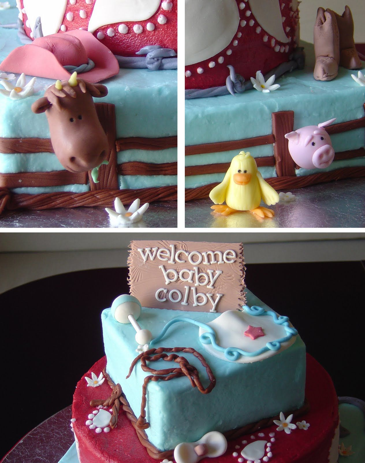 Western Baby Shower Cake Ideas | Crazy For Design: Western Baby Shower  Cake. SO