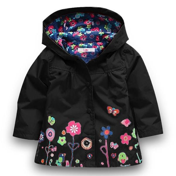 57f06c4c2e37 LZH 2017 Autumn Winter Girls Jacket For Girls Windbreaker Boys ...