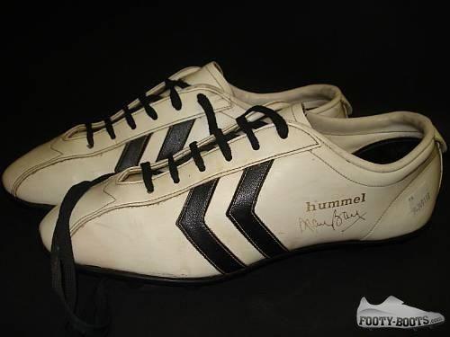 Alan Ball White Footballl Boots Fotballsko, fotball  Football boots, Soccer