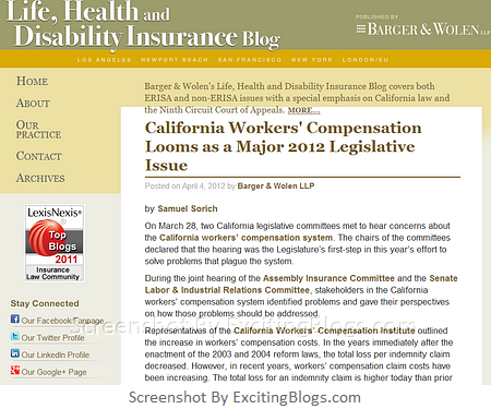 Life Health And Disability Insurance Law Blog Life Health And