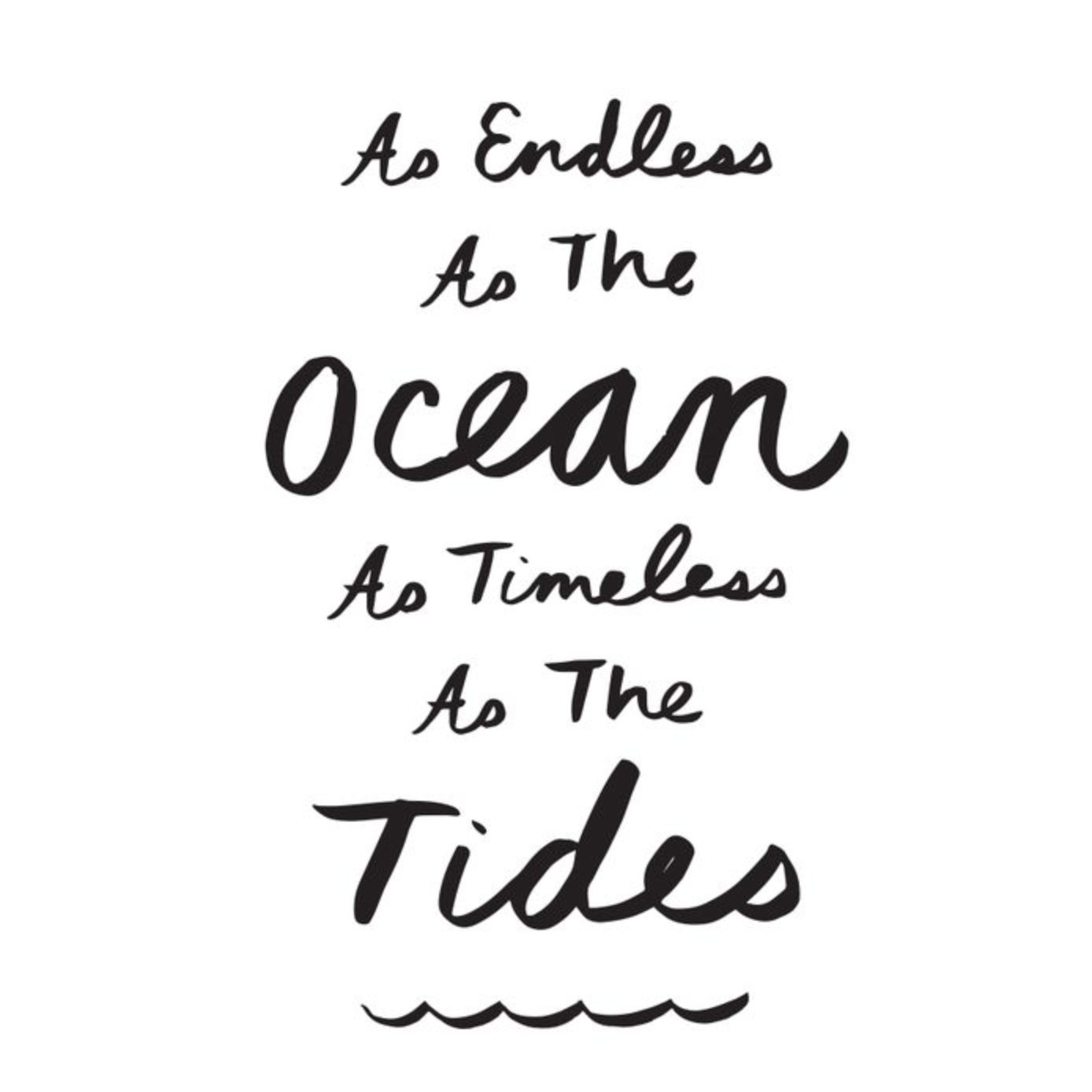 17 Timeless Love Quotes: As Endless As The Ocean, As Timeless As The Tides. #quotes