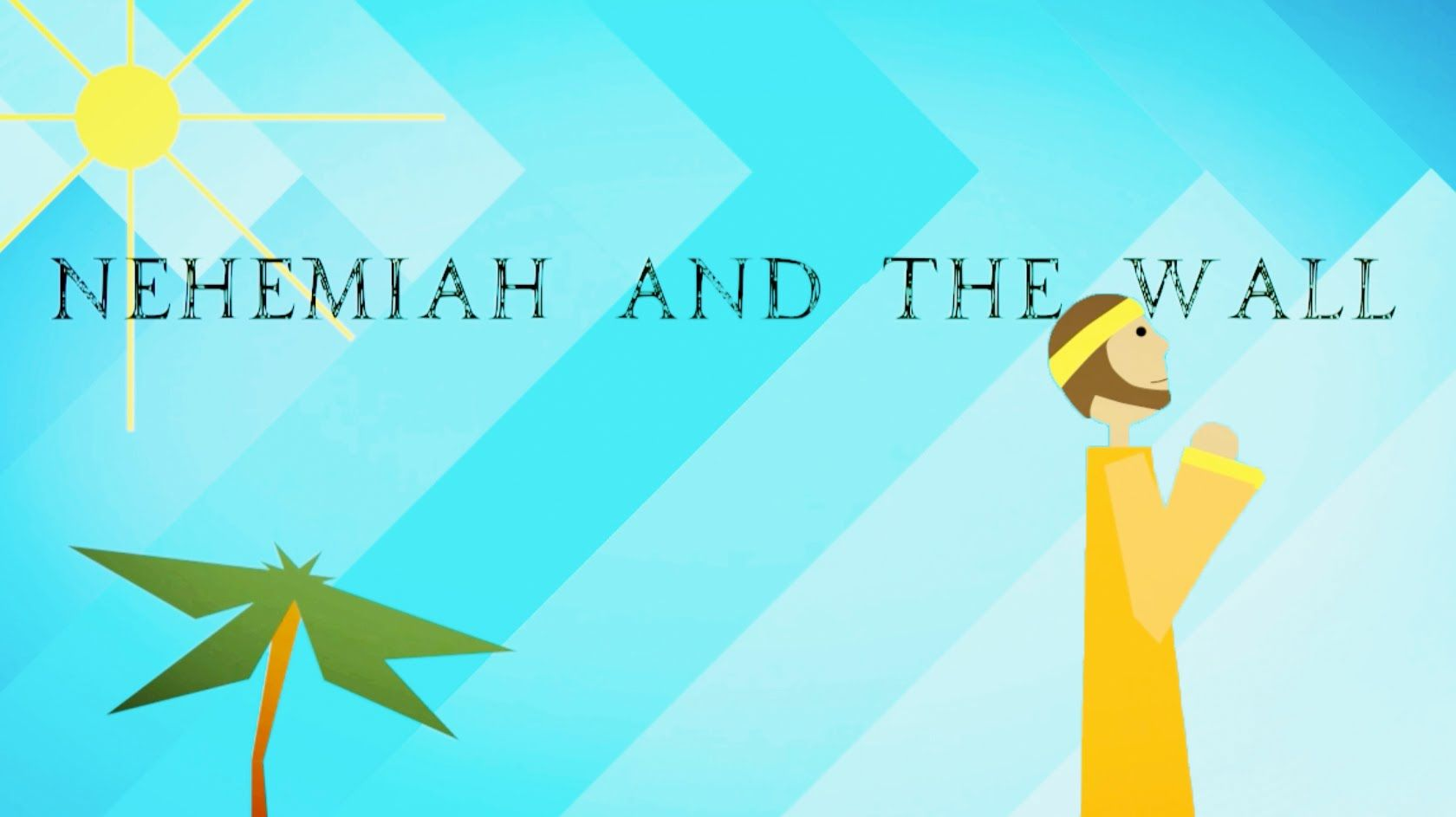 The story of Nehemiah rebuilding the wall of Jerusalem   6th Grade ...