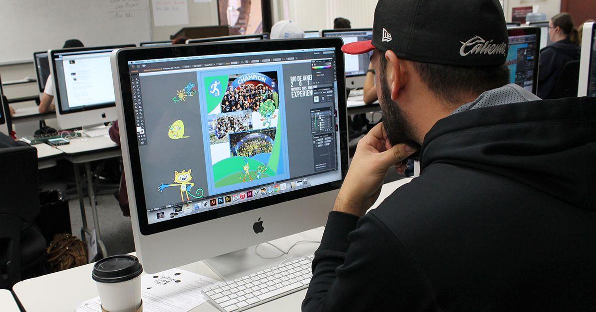 Graphic Design Design, Degree program, Layout design