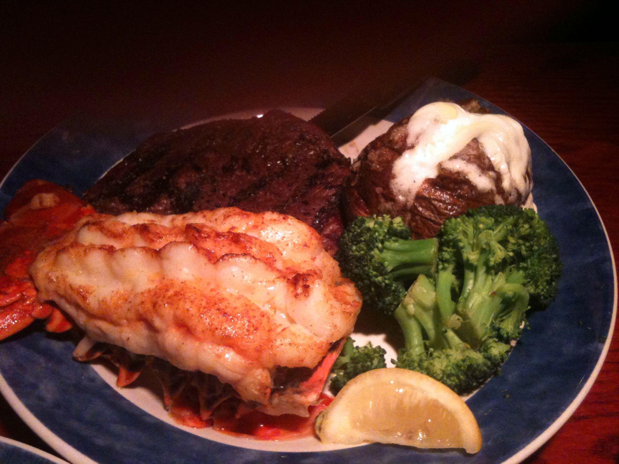 Steak & Lobster! | Romantic Dinner | Food, Ethnic recipes ...