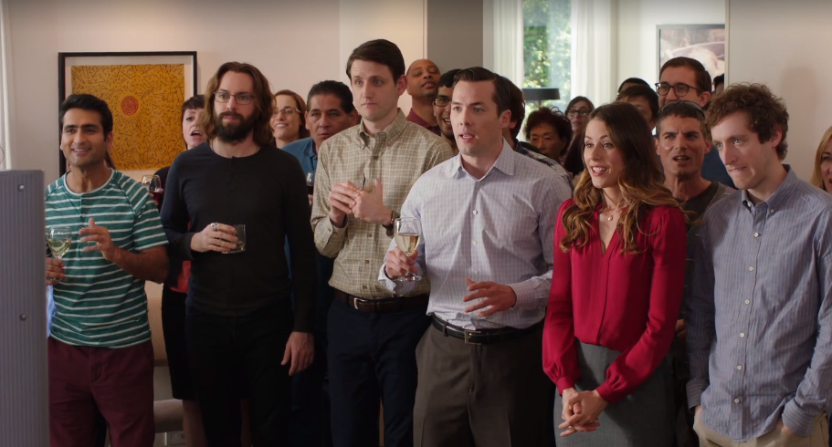 Friends, employees and investors celebrate Pied Piper on the Cyfe dashboard #hbo #siliconvalley