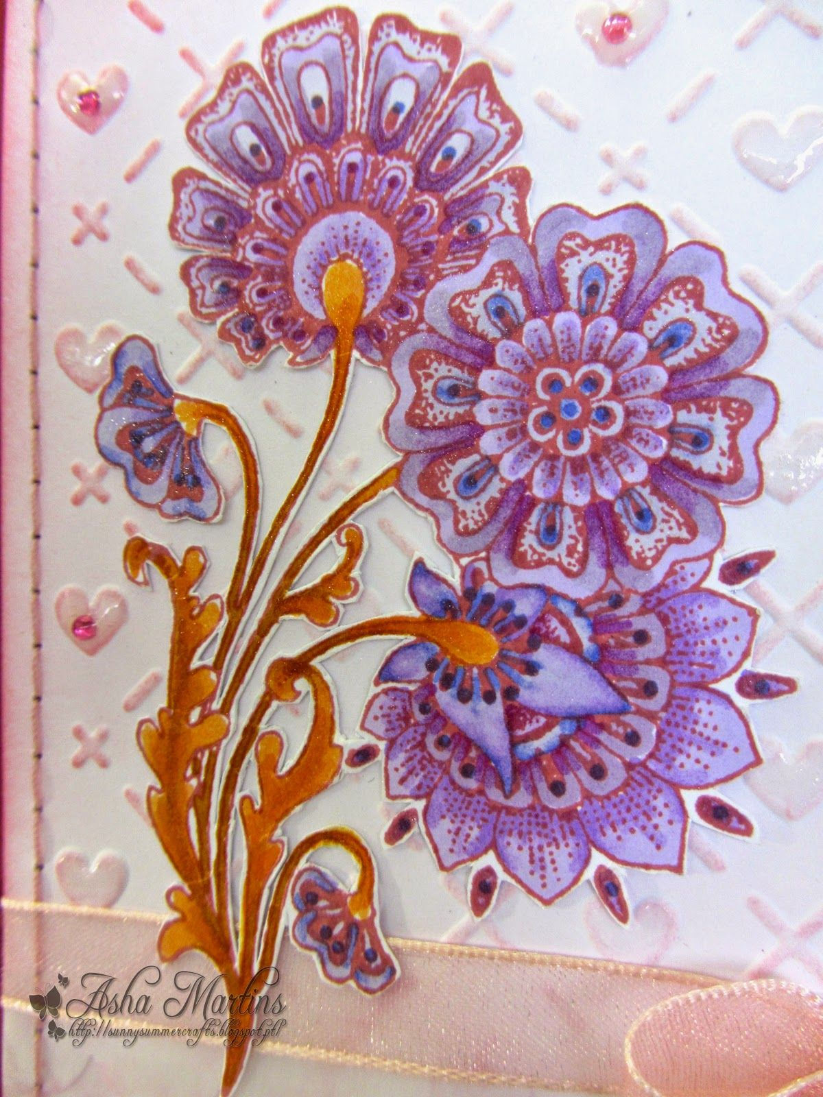 Sunny Summer Crafts: Chocolate Baroque Colour Challenge #10.