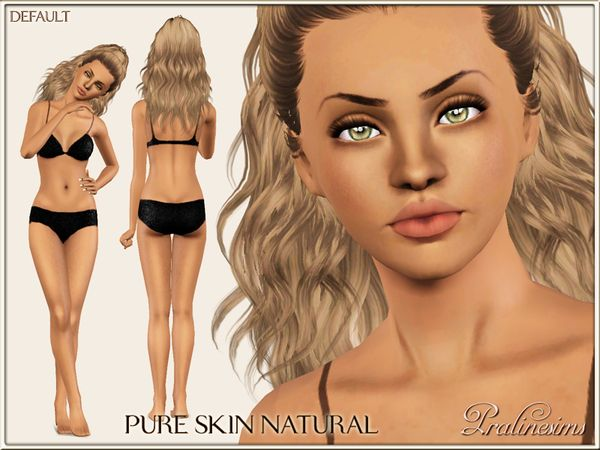 Pure Skin Natural DEFAULT by Pralinesims • Sims 3 Downloads CC Caboodle