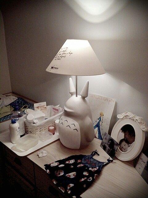 Totoro Light Lampe Baby Room By Nwardesign Totoro Ghibli Light Lampe Diy Baby Room Baby Room Totoro Nursery Baby Themes