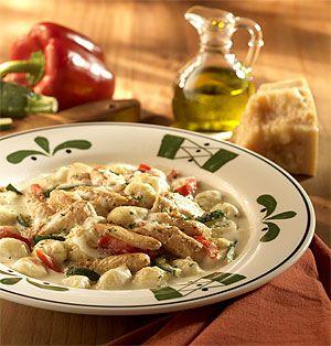 Chicken Gnocchi Veronese Olive Garden Copycat Recipe Food