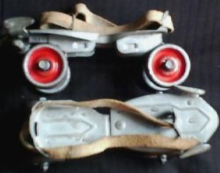 I lived in my Clamp-on Roller Skates !!! I would always misplace my skate key ...*frown*